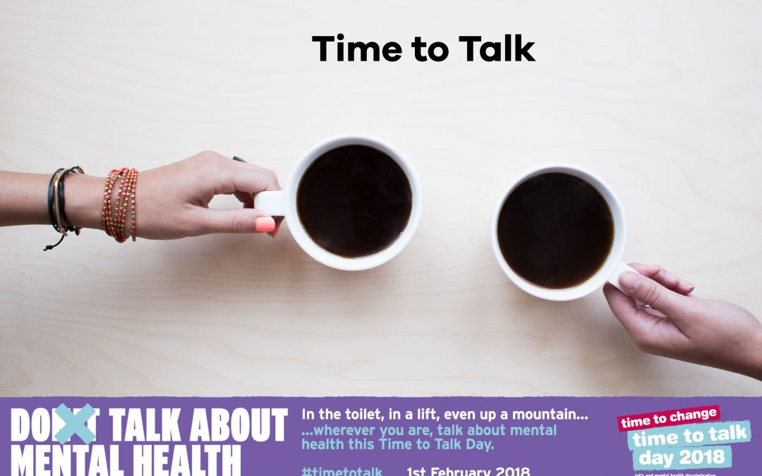 Time to Talk – 5 Ideas to Get Involved